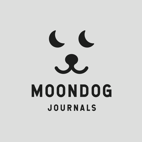 Journal logo with the title 'Moondog Journals'