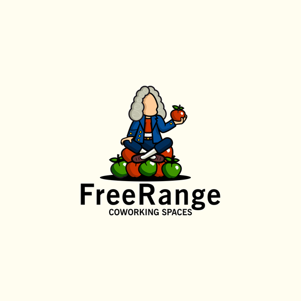 Gravity design with the title 'Logo proposal for FreeRange'