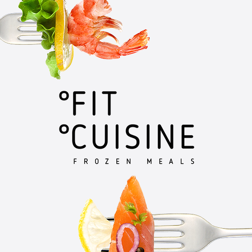 """Food design with the title 'Logo and package for  brand """"Fit Cuisine"""" (Frozen food)'"""