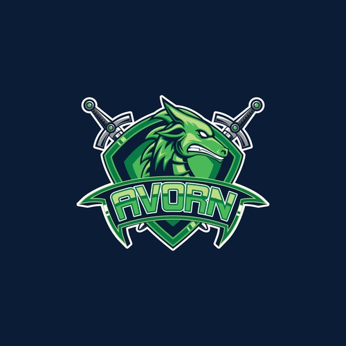 Streaming logo with the title 'Logo for Twitch Gaming Streamer'