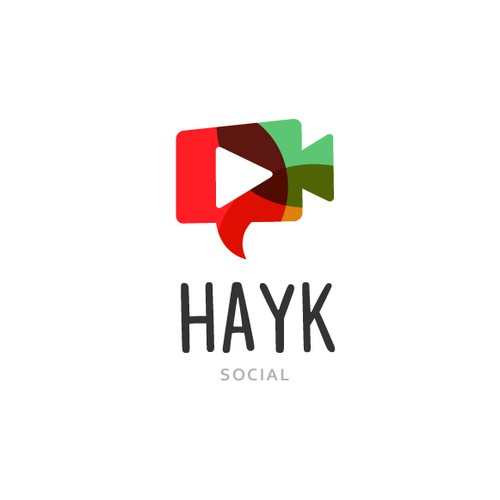 Best logo with the title 'social media logo'