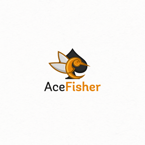 Ace logo with the title 'acefisher'