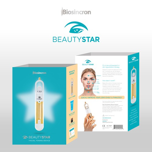 """Sleeve design with the title 'Sleeve Design for """"Beauty Star""""'"""