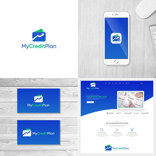Wallet logo with the title 'My Credit Plan'