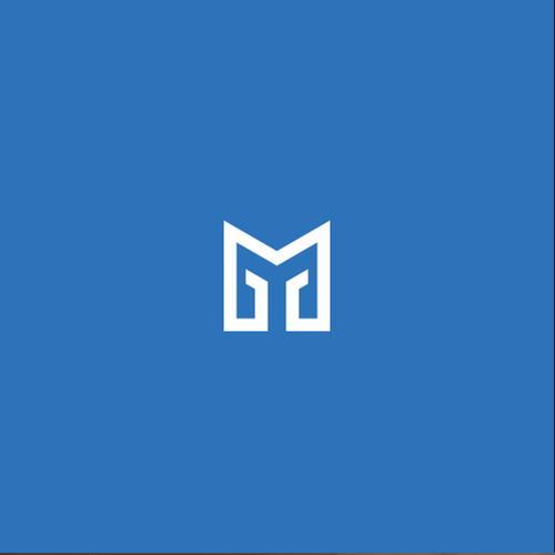 Clean logo with the title 'Monogram logo for real estate business: McGraw Group'