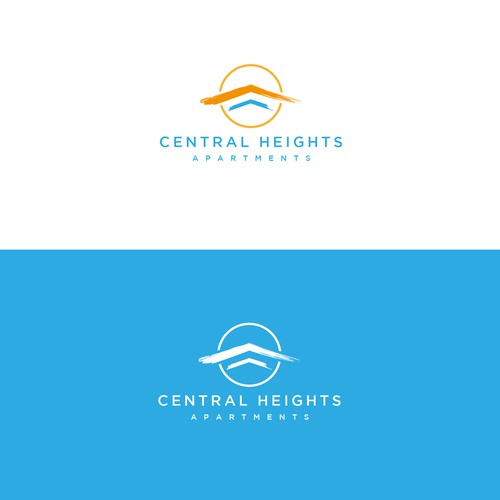Crisp logo with the title 'Central Heights Apartments'