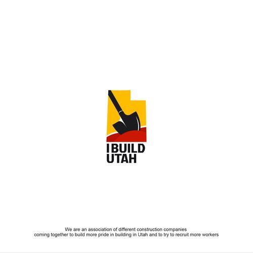 Utah logo with the title 'Builder logo'