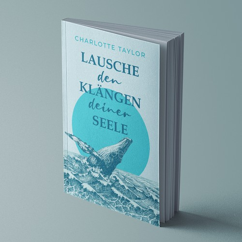 "Novel design with the title 'Book Cover for ""Lausche den Klängen deiner Seele""'"