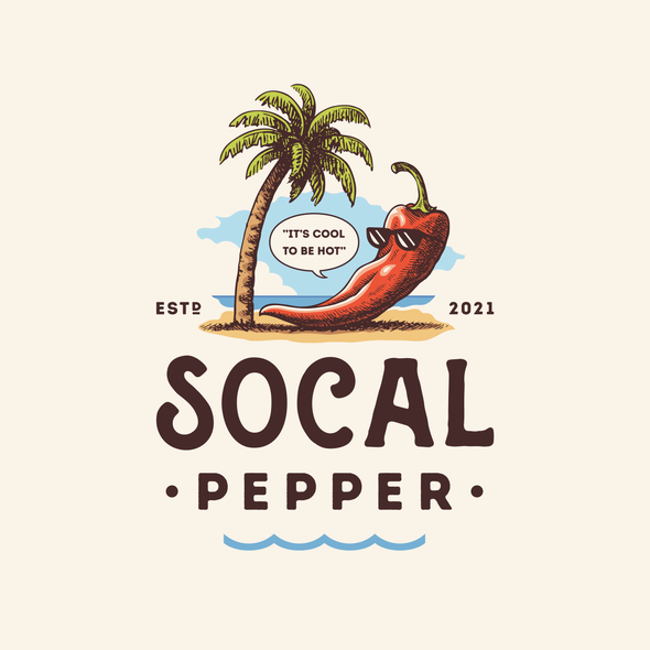 Sauce design with the title 'Socal Pepper'