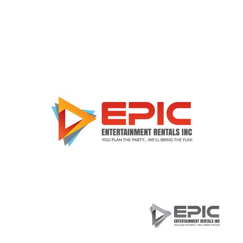 Party brand with the title 'Epic-Entertainment Rentals Inc.'