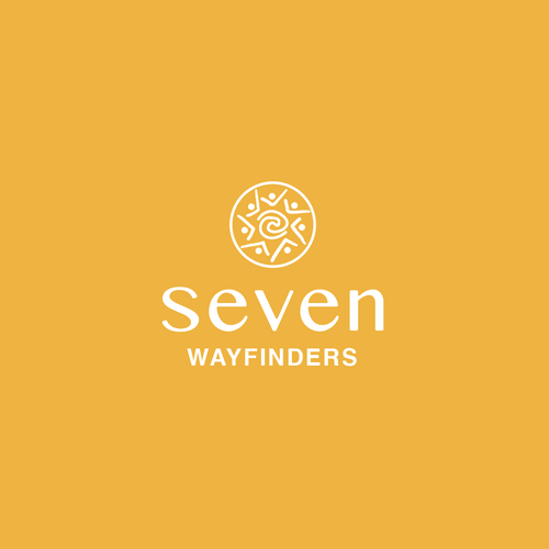 Family business logo with the title 'Seven Wayfinder'