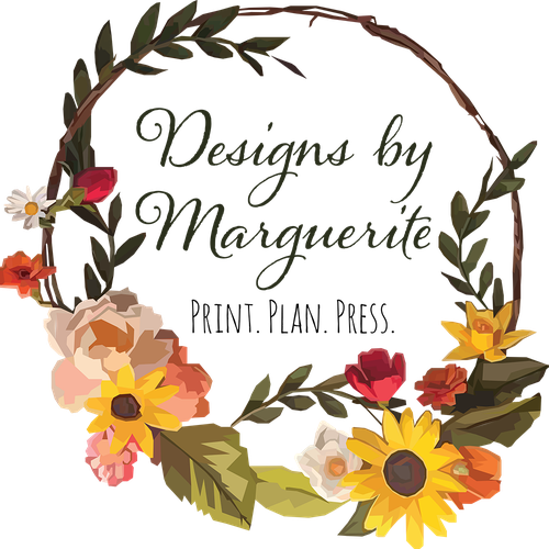 "Wreath logo with the title 'Logo Concept Design for ""fun, feminine, and fresh logo for a print & press company""'"