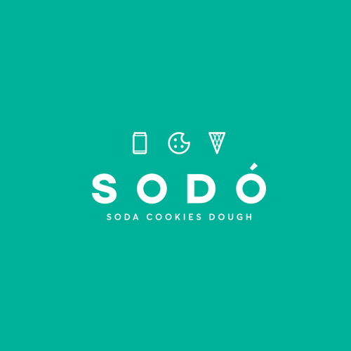 Soda design with the title 'Soda Cookies Dough'