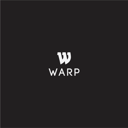 Tech company logo with the title 'warp'