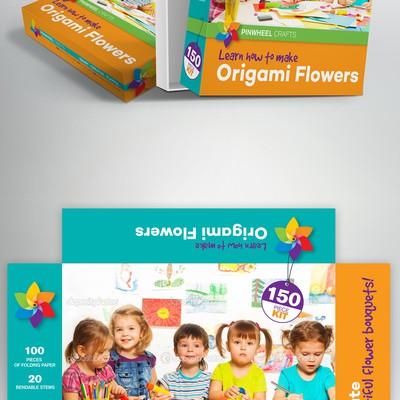 Origami flowers Box