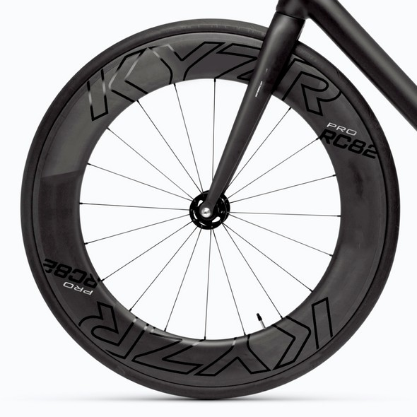 Wheel design with the title 'Decal design for KYZR'