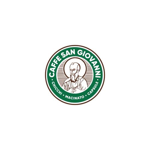 Roast design with the title 'Caffee San Giovanni'