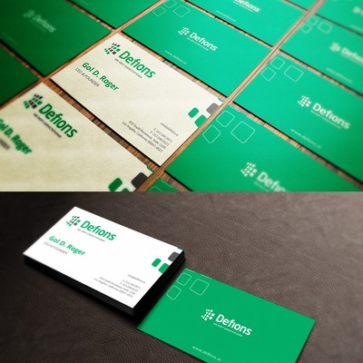 Business Card for Tech Brand