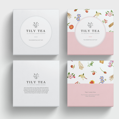 Packaging design for a gift box