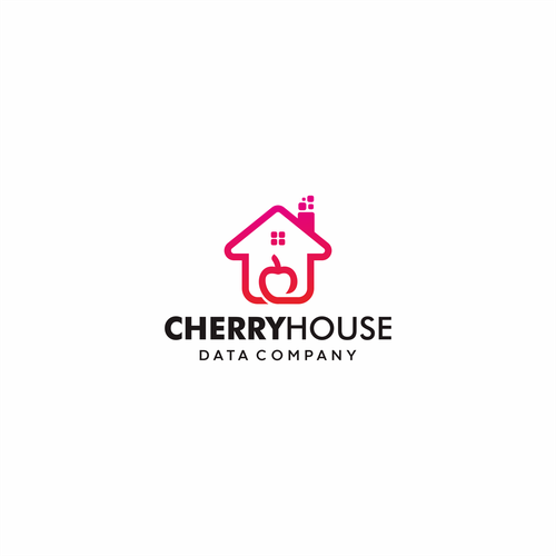 "Charcoal logo with the title 'data company ""Cherry House""'"