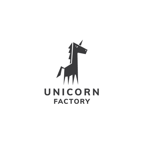 Sharp logo with the title 'UNICORN'