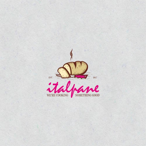 Bread brand with the title 'Italpane'