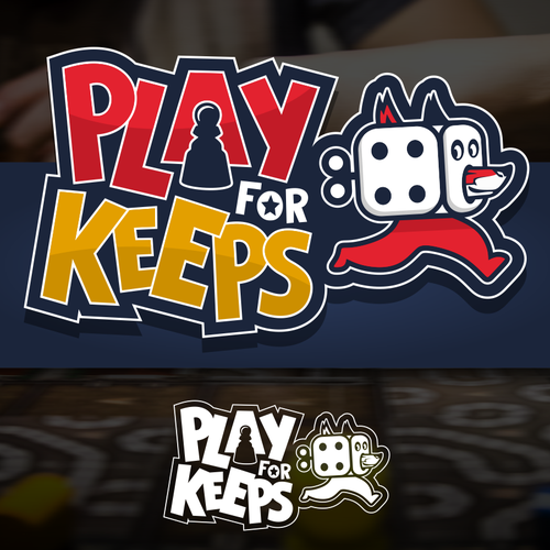 Fox brand with the title 'Logo Play for Keeps'