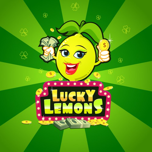 Lucky design with the title 'Lucky Lemons'