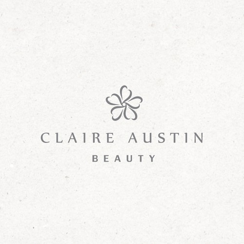 Bespoke design with the title 'Claire Austin Beauty'