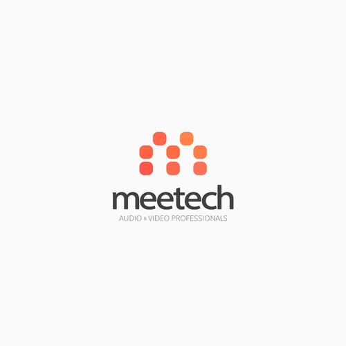 Meeting design with the title 'Meetech'