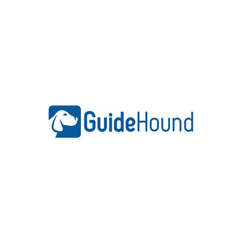 Hound design with the title 'guide hound'
