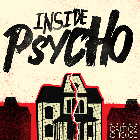 Movie logo with the title 'Inside Psycho'