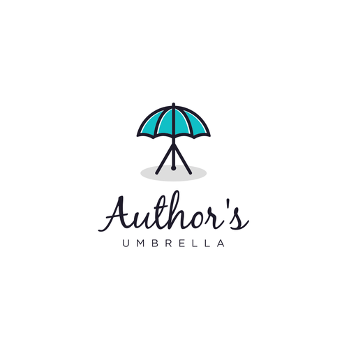 Umbrella design with the title 'Author's Umbrella'