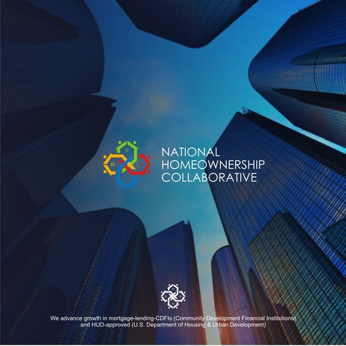 Organization brand with the title 'Homeownership Collaborative Logo '