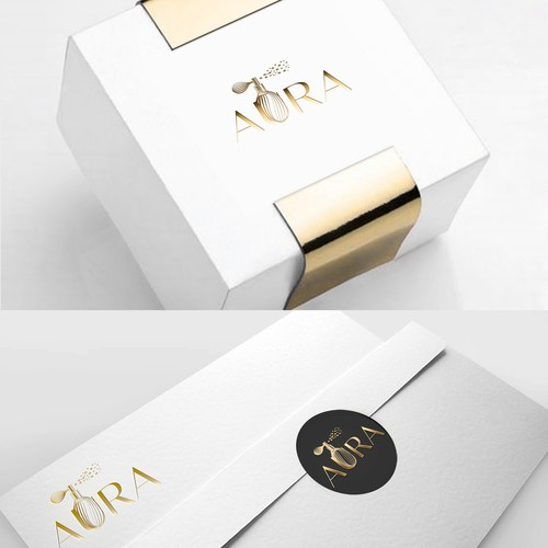 Box brand with the title 'AURA'