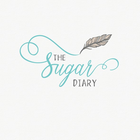 Personalized design with the title 'A stylish and soulful logo for the Sugar Diary'