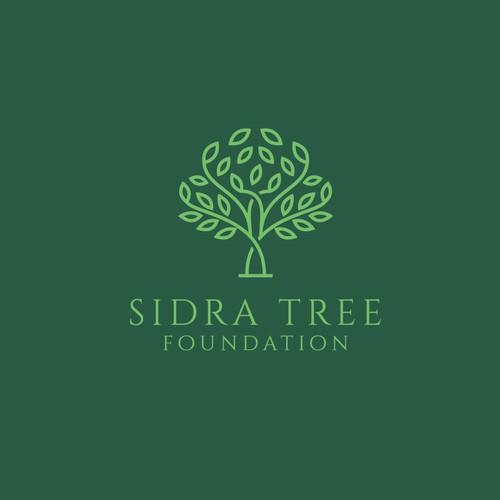 Optics logo with the title 'Sidra Tree Foundation'
