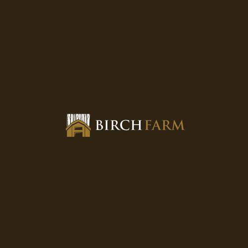 Birch design with the title 'Birch Farm'
