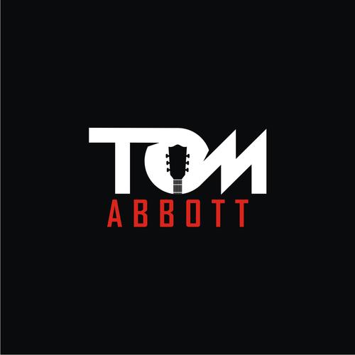 Singer logo with the title 'TOM ABBOTT LOGO'