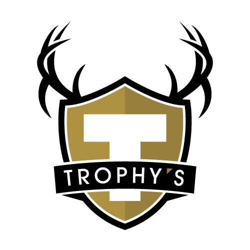 Antler design with the title 'NEED a logo for a Sexy High End Sports Bar'
