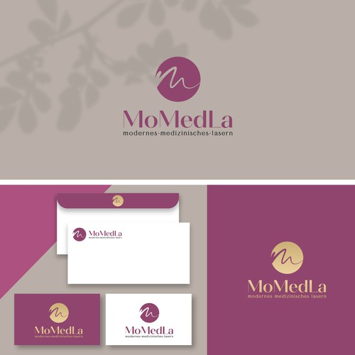Laser logo with the title 'MoMedLa'