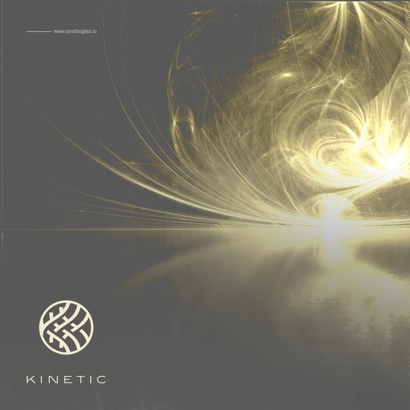 Body design with the title 'Rhyzomatic mark for Kinetic'
