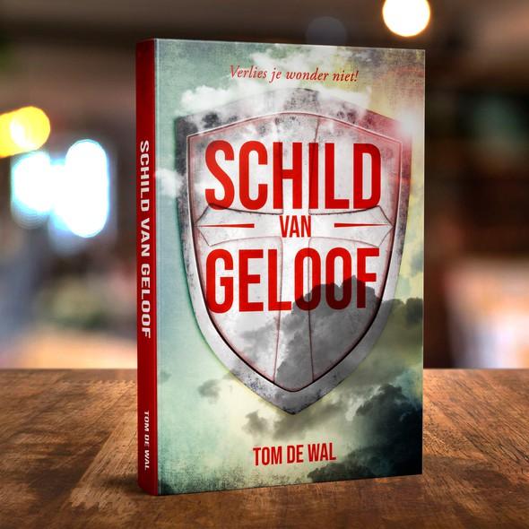 Eye-catching design with the title 'Schild Van Geloof'