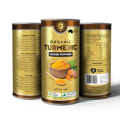 Tumeric Powder Container Design