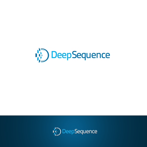 Data logo with the title 'DeepSequence Logo'