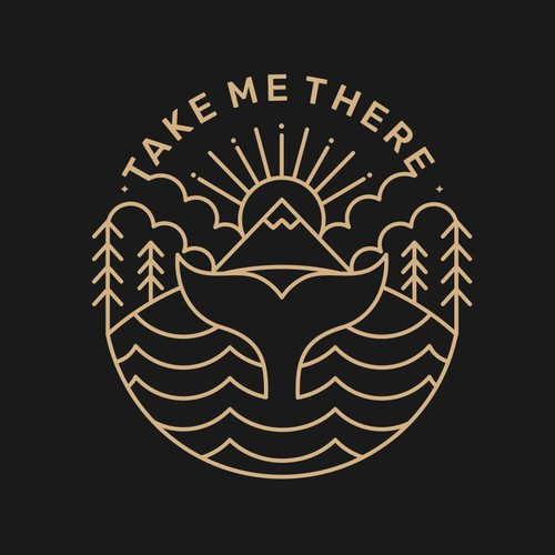 Sea logo with the title 'TAKE ME THERE'