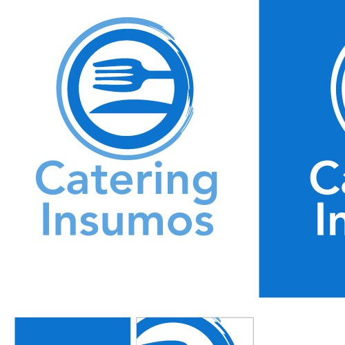 Catering brand with the title 'Catering Insumos'