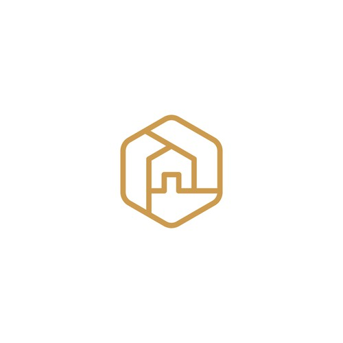 Real estate brand with the title 'HexHouse'