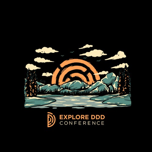 Adventure t-shirt with the title 'Explore DDD'