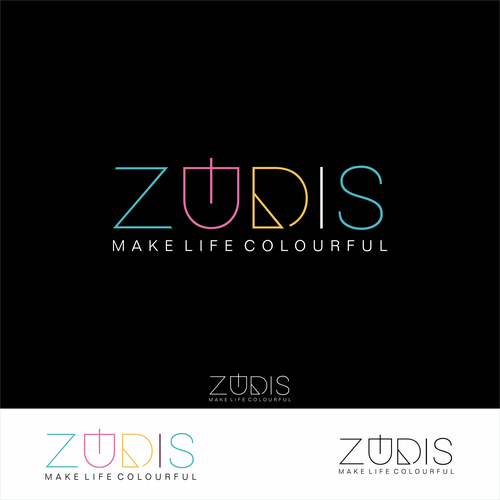 Online store logo with the title 'ZUDIS '
